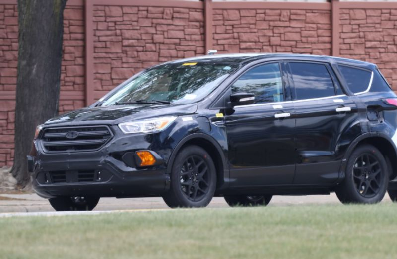 2019 Ford Escape Spy Photos, Plug-in Hybrid Model | 2019 ...