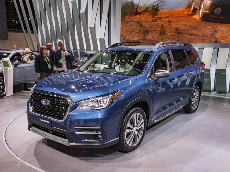 2019 Subaru Ascent Front Jpg