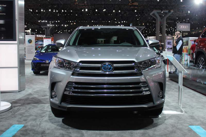 2019 Toyota Highlander Hybrid Front Jpg