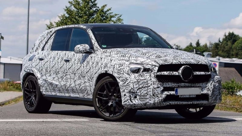 2019 Mercedes Benz Gle Spy Shots Plug In Hybrid 2019 2020