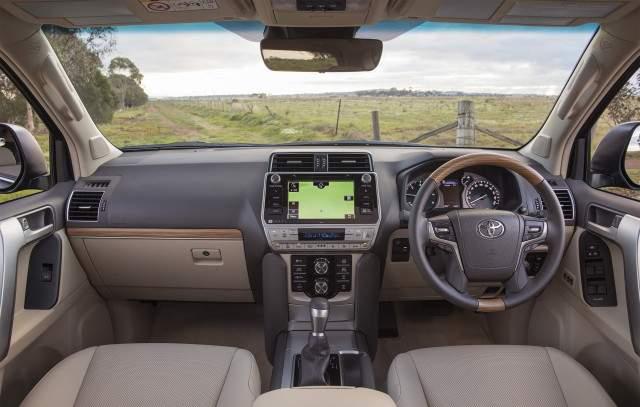 2019 Toyota Land Cruiser Prado Interior 2019 2020