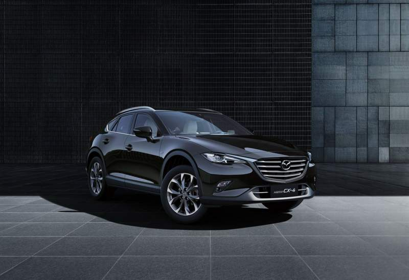 2019 Mazda Cx 4 Spy Shots Release Date For United States 2019