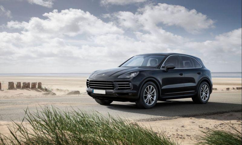 2019 Porsche Cayenne Front Jpg