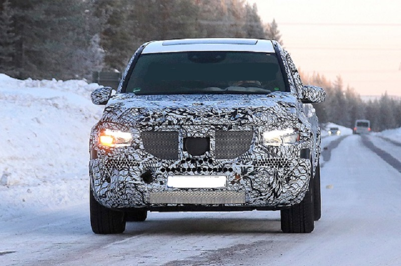 Spied 2020 Mercedes Gls Redesign Amg 63 Interior 2019 2020